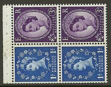 SB50 Wilding booklet pane Violet Phos S/W Left perf type AP UNMOUNTED MNT/MNH