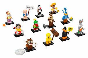LEGO 71030 - Serie Looney Tunes Completa - All 12 Minifigures