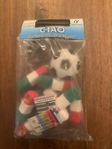 MASCOTTE PELUCHE UFFICIAL ITALIA 90 WORLD CUP FIFA WINDOW CIAO BASIC SEALED NEW