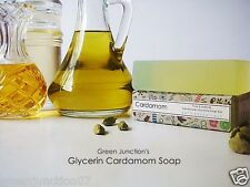 Green Junction's Cardamom Glycerine Soap  - Set of Two Soap - ( 150 g each)