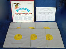 STARDAY COUNTRY - MUSIC SPECTACULAR - 6 LP BOX SET - 1967 - J.HORTON, GEO. JONES