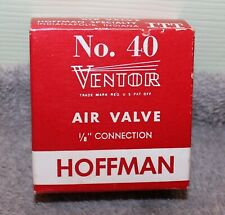 "VINTAGE HOFFMAN NO. 40 1/8"" CONNECTION RADIATOR AIR VALVE"