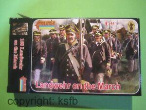 1:72 Strelets #168 Napoleon Preußen Landwehr auf dem Marsch Prussian Army