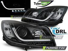 Headlights For OPEL INSIGNIA 08-12 BLACK TUBE LIGHTS..