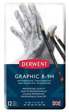 Derwent Graphic Hard 12 Pencil Tin