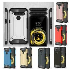 For LG V50 Phone Case Shockproof Hybrid Armor Protective Hard Bumper Back Cover