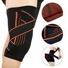 Non-Slip Breathable Strap Elastic Sport Gym Support Brace Pad Nylon Knee Gear GL