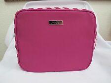 (1) NEW Shiseido Pink/Purple Zic Zag Zip Top Makeup Bag *FREE SHIP*