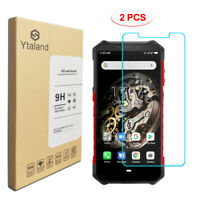 [2 Pack] Tempered Glass Film Cover Screen Protector For Ulefone Armor X5