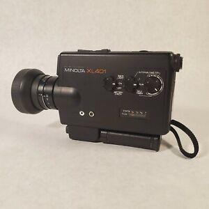 Minolta XL 401 Super 8 Movie Camera - Excellent Condition Untested