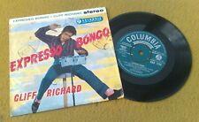 "CLIFF RICHARD "" EXPRESSO BONGO ' SUPER UK MEGA RARE STEREO ORIGINAL  EP"