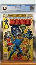 Micronauts #1 CGC 8.5 Comic