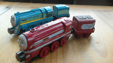 Take Along n play Thomas Tank & Friends Train - CONNOR & CAITLIN - ROUND MAGNETS