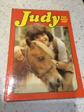 Judy for Girls Annual 1981 - Unclipped. Free P&P