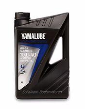 (€10,48/L) 4 Liter YAMALUBE Synthetik 4 Takt Motoröl 10W-40 für Außenborder