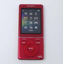 Sony Walkman NWZ-E473 Red 4GB MP3 Digital Media Player