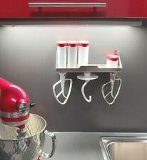 KitchenAid kompatibel Rührwerkzeug Halter oder Regal mit Halter Ablage Gewürze