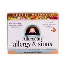 Allercetin Allergy & Sinus, 48Tabs, Source Naturals, 24Hr Dispatch