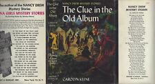 NANCY DREW #24 THE CLUE IN THE OLD ALBUM w/DJ WRAP ART