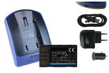 Baterìa+Cargador (USB) BN-VF815 para JVC GC-PX10, PX100