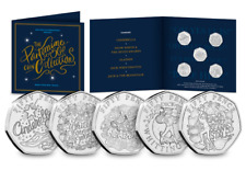 The Christmas Pantomime 50p Coin Set