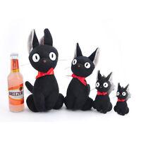 "Kiki's Delivery Service Black Cat Jiji 4"" Plush Key Chain Soft Doll Birthday Toy"