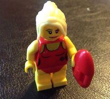 LEGO #8684 Mini figure Series 2 LIFEGUARD