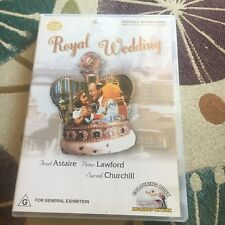 FRED ASTAIRE, ROYAL WEDDING DVD.