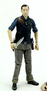 """THE GOVERNOR (LOSE / AUSGEPACKT) 5"""" /12 cm FIGUR THE WALKING DEAD McFARLANE TOYS"""