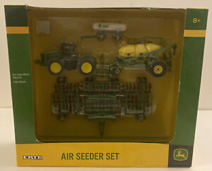 JOHN DEERE AIR SEEDER SET NIB W/ 9530 Tractor & Tank 1/64 Farm Toy B1