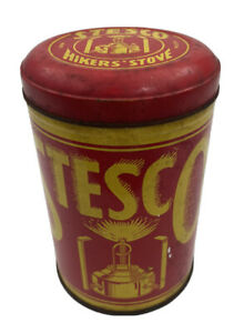 Vintage Stesco Hikers Stove In Original Can New Old Stock RARE