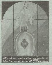 W2341 Profumo Giacinto Innamorato di Gi.vi.emme - Pubblicità del 1930 - Advert