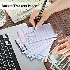 12pcs Budget Envelopes Cardstock Cash Envelope System For Money Saving