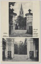 Ak; Rothenburg/ Oder, Czerwieńsk, 1939, Nettkow, Schloßportal, Kirche,
