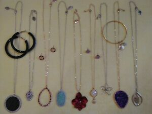 Lovely Vintage To New Jewelry Lot Rhinestones Sets