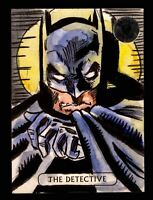 2016 DC Comics Justice League Artist Proof 1/1 Vinicius Moura Sketch Card Batman