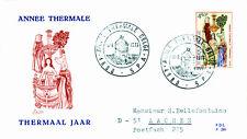 Belgien 1736 FDC, Jahr der Thermalbäder