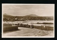 Ireland Co Wicklow GREYSTONES Harbour c1920s RP PPC