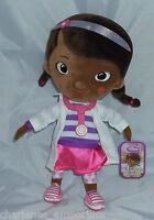 "NEW Disney Junior Doc McStuffins plush soft toy Doll 31 cm 12"" Tall Disney Store"
