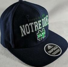 LZ Adidas Adult One Size OSFA Notre Dame Fighting Irish Baseball Hat Cap NEW D53