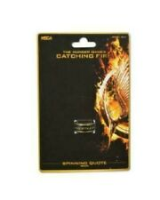 Hunger Games Catching Fire Spinning Quote Brasstone Ring NECA Katniss New Prop