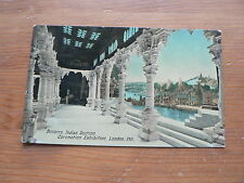 Old Postcard: Coronation Exhibition, London 1911, Benares, Indian Section