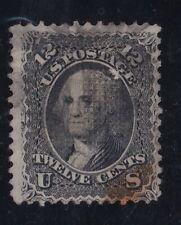 Scott# 90 12Cent Washington E Grill US Classic 1868