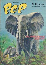 PEP 1966 nr. 40 - COVER H.G. KRESSE/THE MASKERS/BLAKE EN MORTIMER/BONANZA