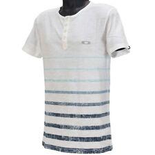 Oakley CAPTIVE Short Sleeve T-shirt Size M Medium White Slim Fit Mens Shirt