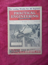 New listing Vintage Practical Engineering Magazine - Radial Arm Machine. February 1941