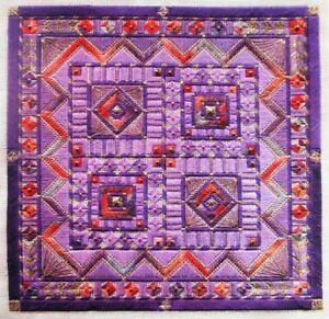 3x Needlepoint Pattern  Royal Pavillion/ChristmasVillage/Bluebonnet Ndlecase-DB7