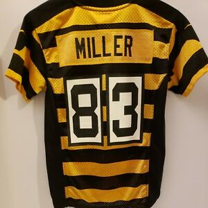 Heath Miller Pittsburgh Steelers NFL AUTHENTIC NIKE JERSEY YOUTH SMALL