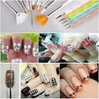 32pcs Nail Art Design Set Painting Drawing Polish Brush Decoration Pen Tool HOT