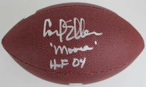 "Carl Eller ""HOF 04"" & ""Moose"" Signed Baden Football JSA Witness COA"
